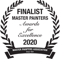 Master Painters Award for Excellence Finalist 2020